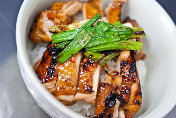 Chicken Teriyaki (鳥照り焼き) is grilled chicken lacquered with a sweet soy teriyaki sauce. Learn how to make it with this chicken teriyaki recipe.