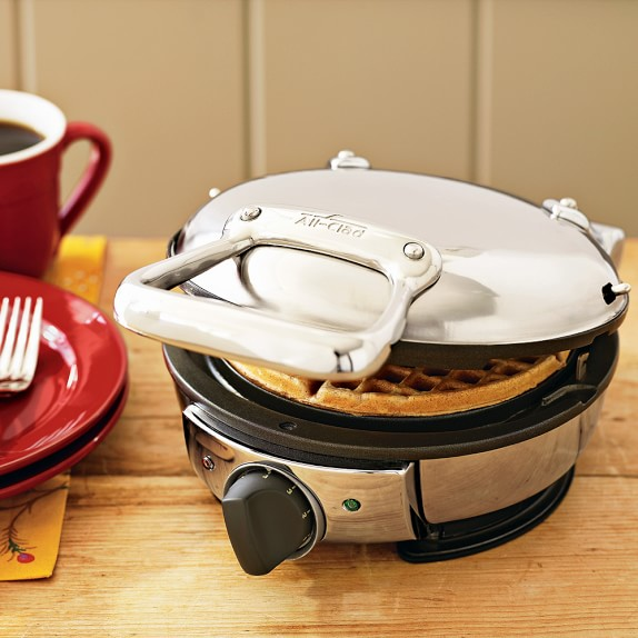AllClad Classic Round Waffle Maker in 2019 All clad