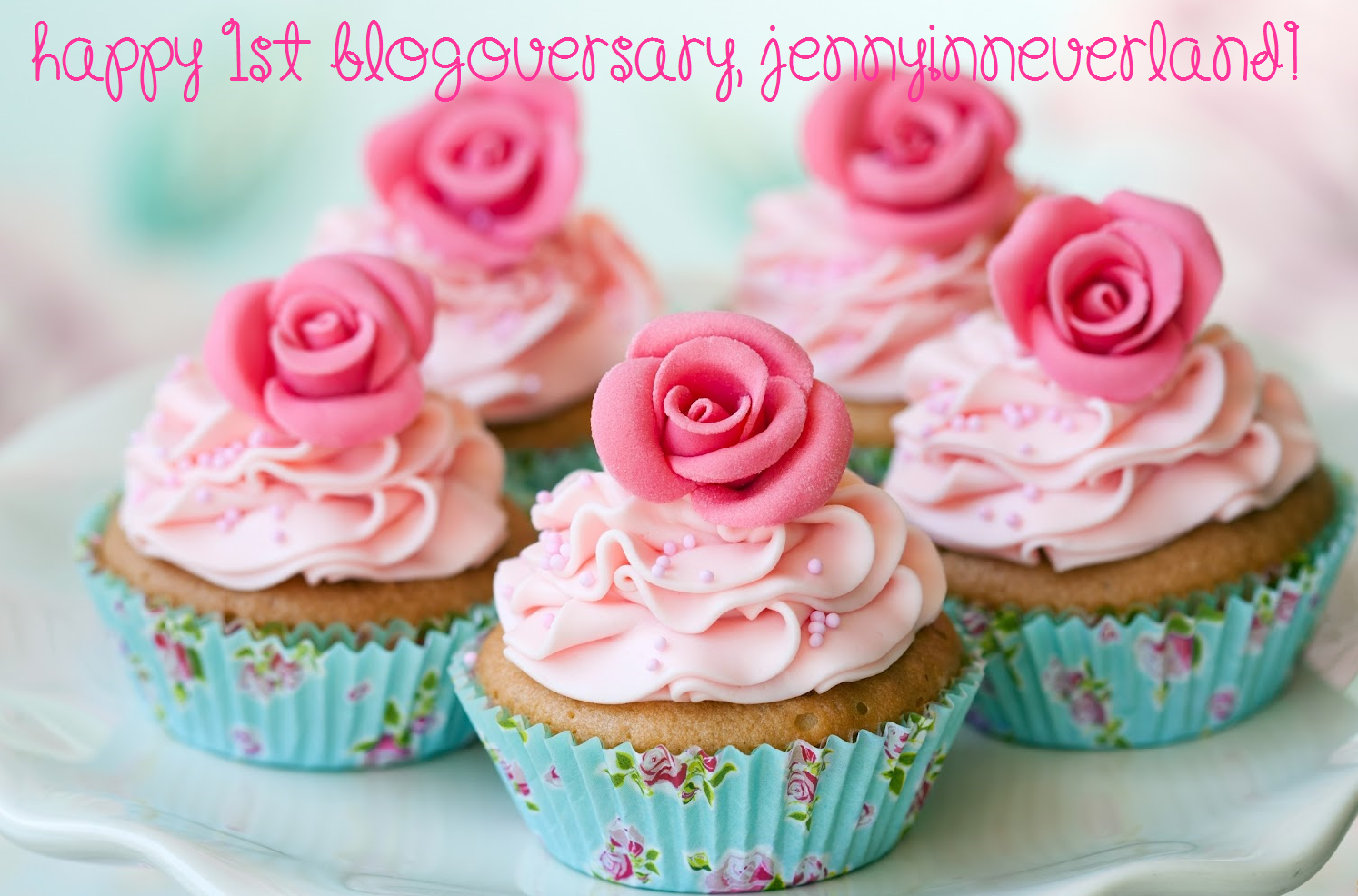 My Blog Is One Years Old! Blogging Friends, This One's For You...