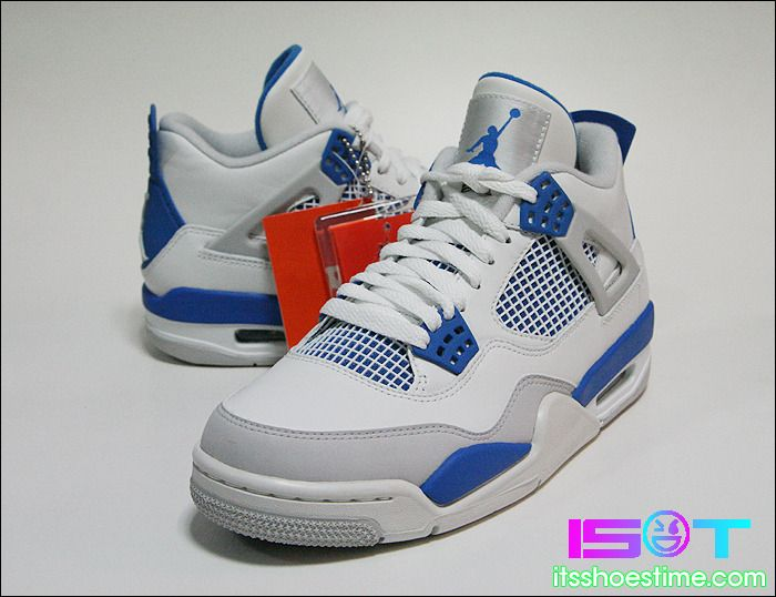 "Air Jordan 4 Retro ""Military Blue"" – New Images  16246012b52a"