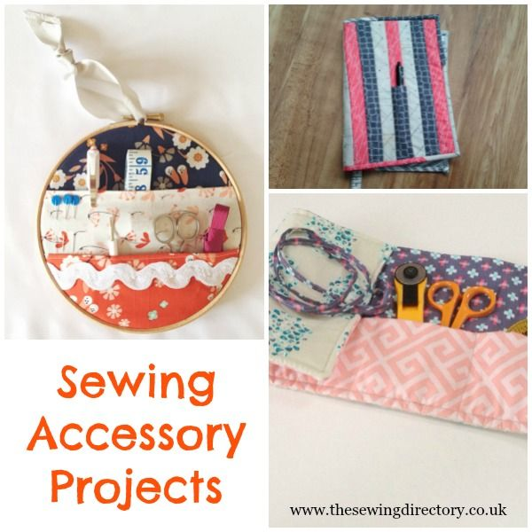 Sewing projects to make for your sewing room or to sew on the go