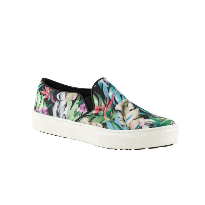 Aldo Mara floral loafers, $70