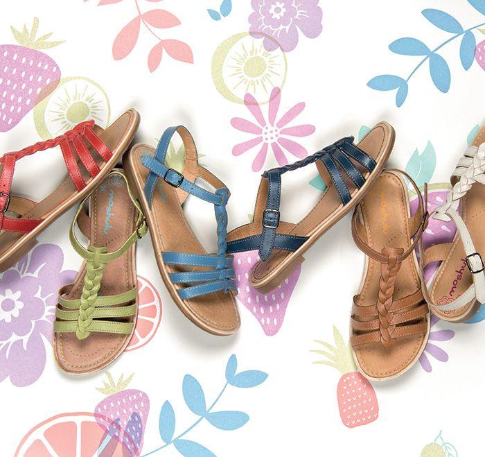 Moshulu sandals - Wasabi!