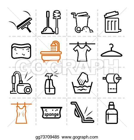 washing icons 3 pinterest icons vector clipart and clip art