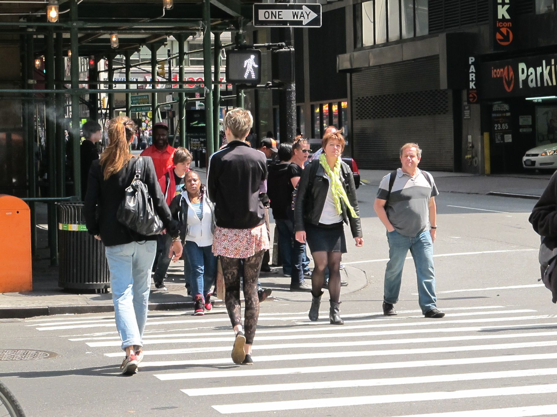 Image result for people walking down the street