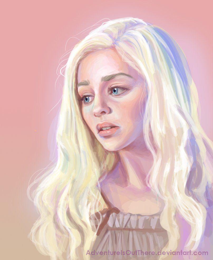 Daenerys Targaryen by *AdventureIsOutThere on deviantART | art eye ...