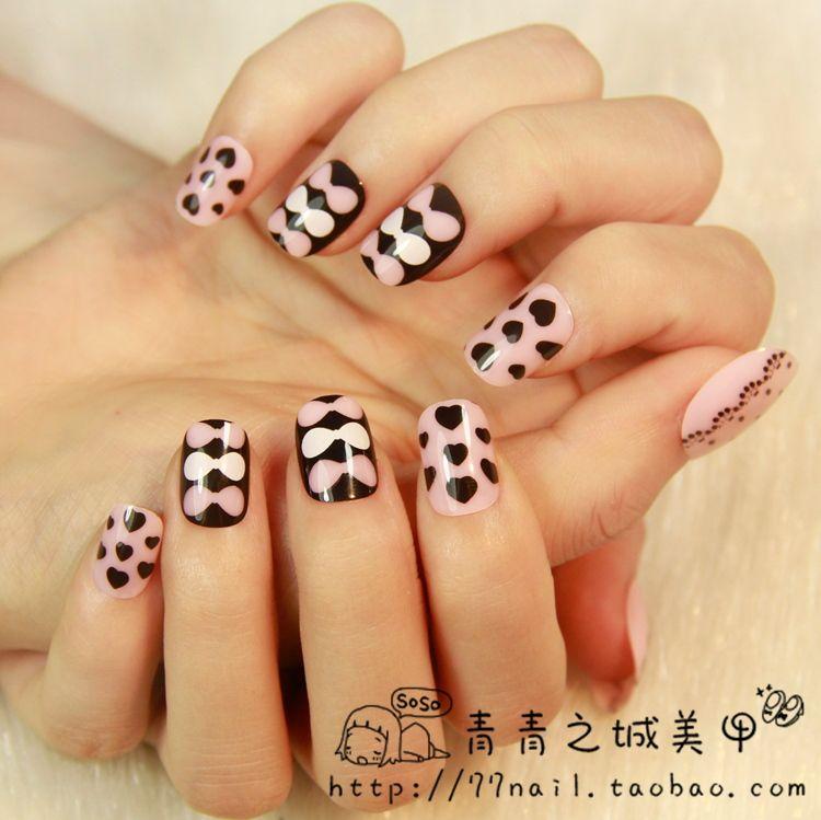 Aliexpress.com : Buy Free shipping,Japanese Style Kawaii fake nails ...