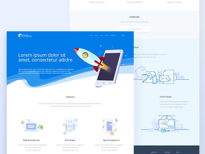 Website Graficheskij Dizajn Dizajn