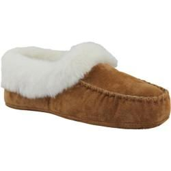 61f22f65fb80 Women s Lamo Australian Bootie Fleece Chestnut - Overstock™ Shopping - The  Best Prices on Lamo Women s Slippers