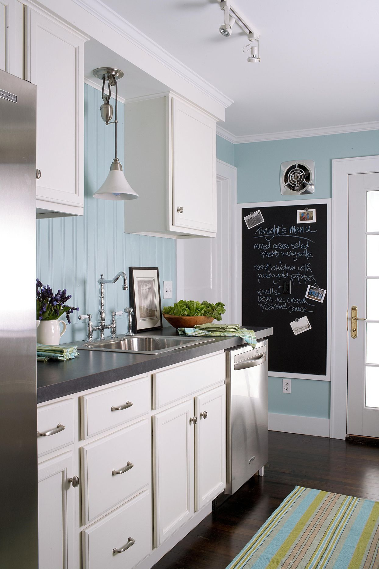 17 Blue Kitchen Ideas For A Refreshingly Colorful Cooking Space Blue Kitchens Kitchen Design Kitchen Colour Schemes