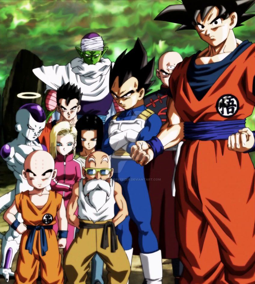 Dragon Ball Super Ending 11 Team Universe 7 By Indominusfreezer Anime Dragon Ball Super Dragon Ball Super Dragon Ball
