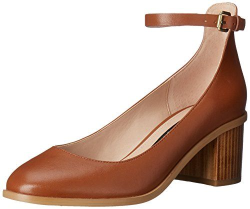 Buy Authentic French Connection Clemena Leather Mary Jane Womens Brown French Connection Womens Pumps High Heels
