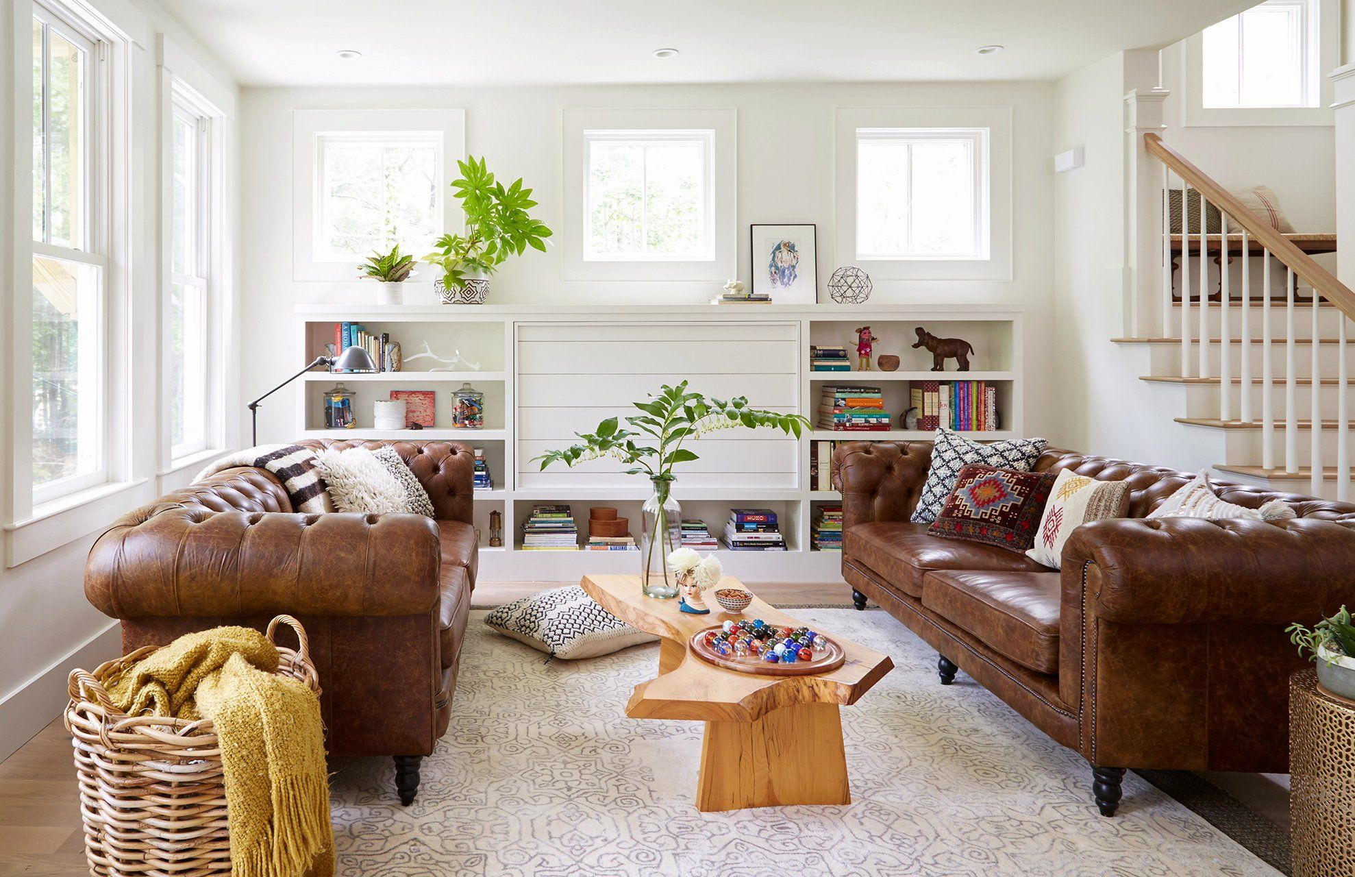 Light Brown Couch Living Room Idea Elegant Living Room Decorating And Design In 2020 Brown Sofa Living Room Brown Living Room Brown Living Room Decor