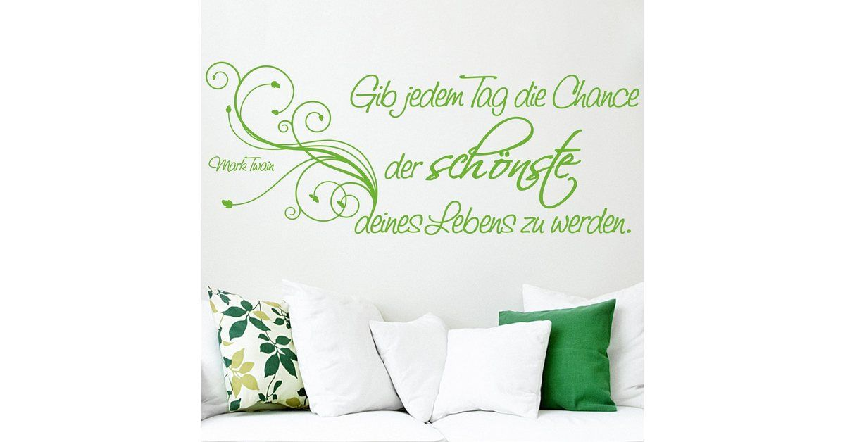 "Wall decal ""The most beautiful day"""