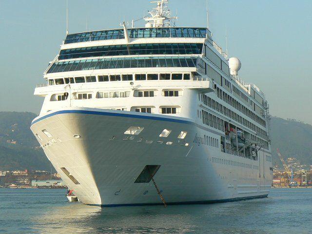 Oceania Ship Front  Mediterranean Cruise  Cruise Ships