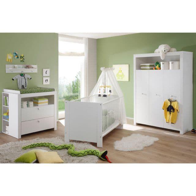 Babyzimmer Set LOVIEA231 weiß Nachbildung GmbH
