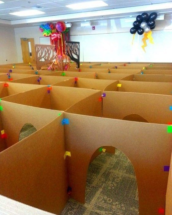 I really want to make a crawling maze like this view original post on our youthministryideas - Hamster agent secret ...