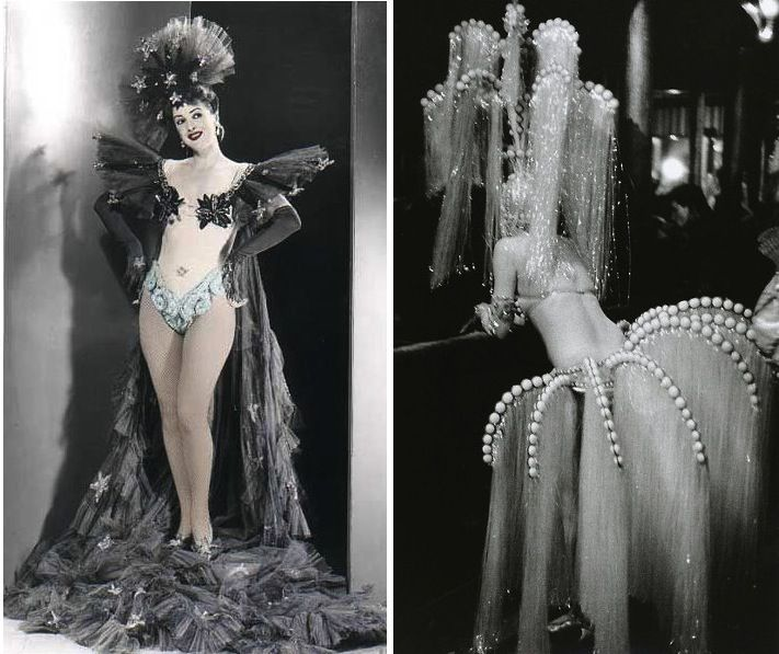 Vintage Burlesque Clothes