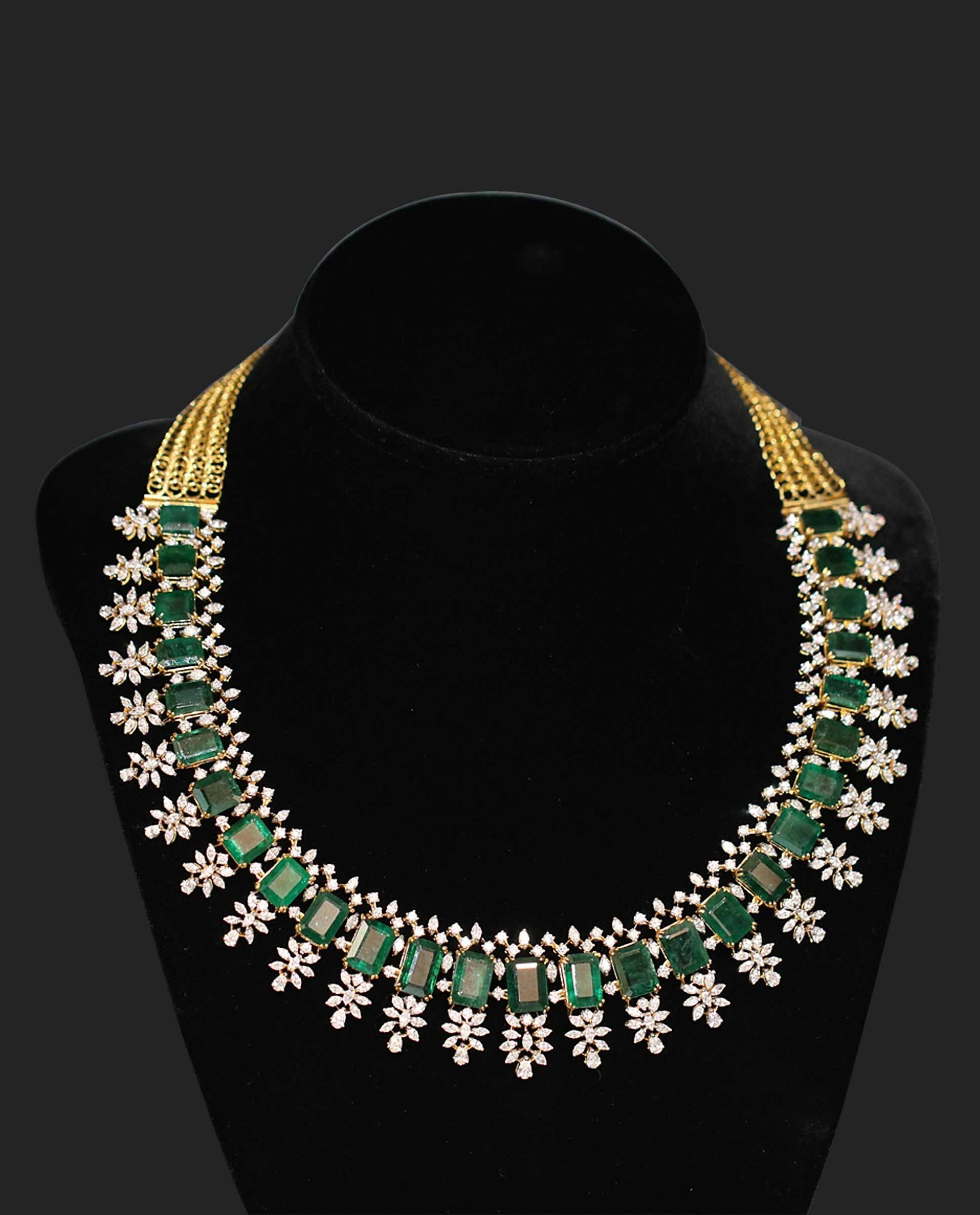products store jewellery necklaces necklace designer vvs diamond neck pid sets broad