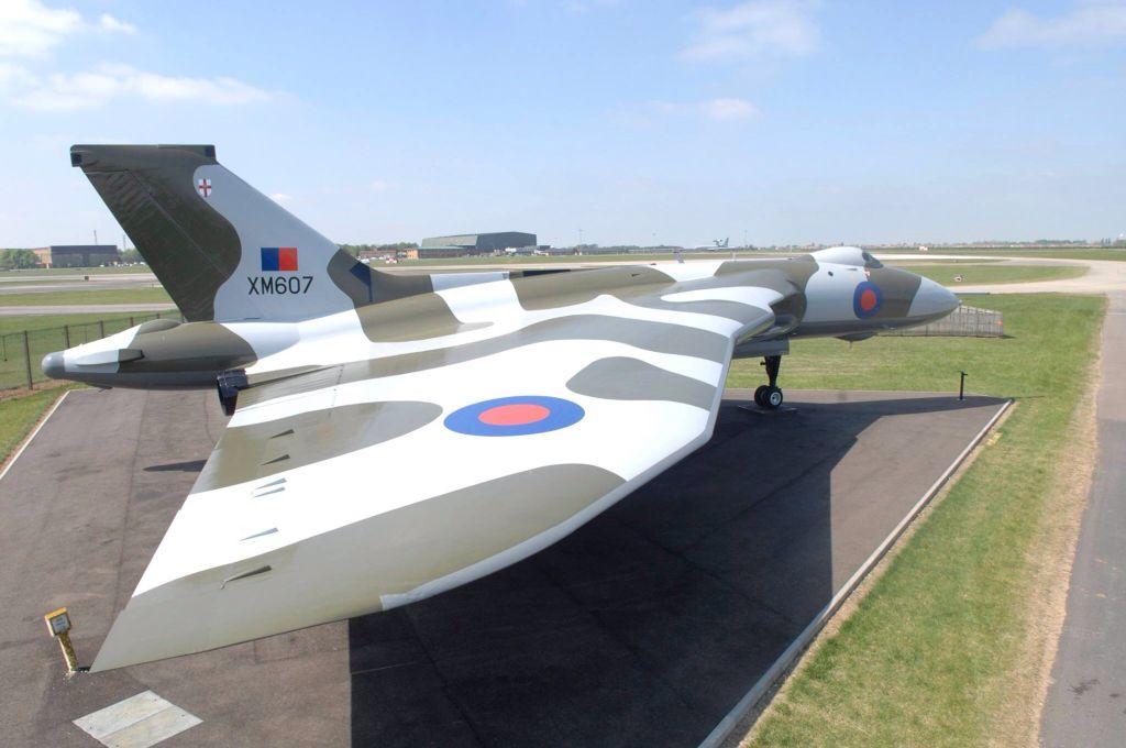 XM607.     Vulcan ( Black Buck 1 )