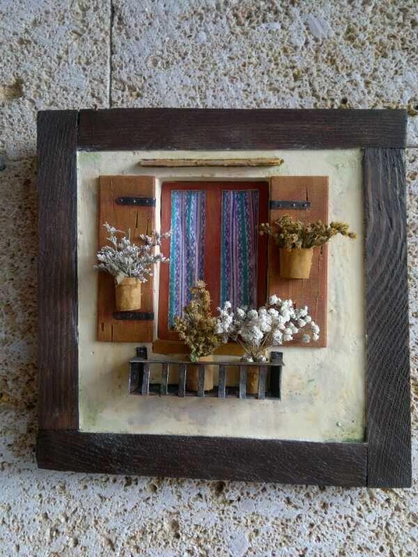 ventana con macetas mis cosas pinterest vitrine vitrine miniature et miniature. Black Bedroom Furniture Sets. Home Design Ideas