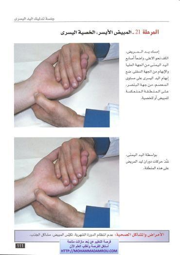 كتاب العلاج الشامل للجسم عبر تدليك اليدين والقدمين رفلكسولوجي Hand Reflexology Natural Medicine Baby Center
