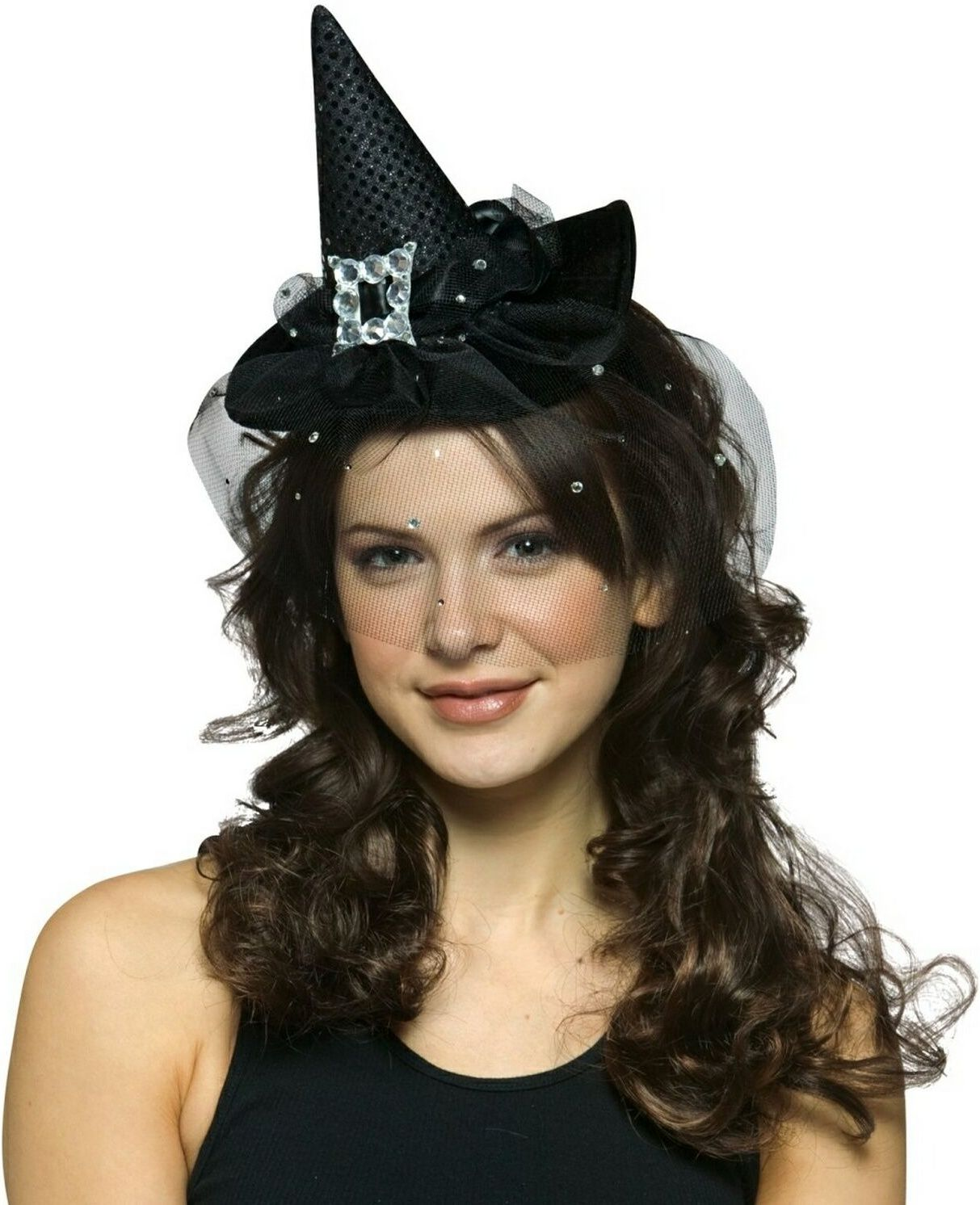 Adult Mini Witch Hat Headband | Halloween Decor Ideas | Pinterest ...