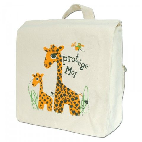 Rugzakje Giraf - Kudzu eco webshop