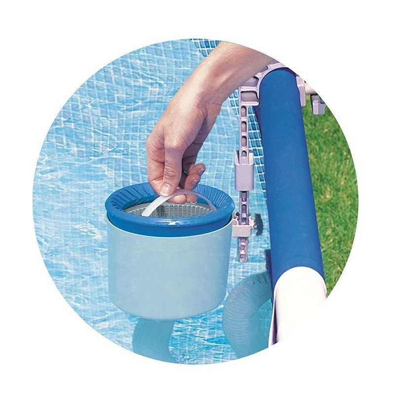 Intex Skimmer Deluxe Wall Mount Surface Swimming Pool
