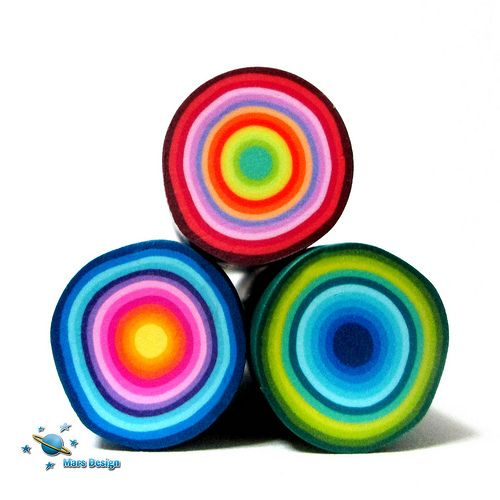 Circles canes | Flickr - Photo Sharing! | love these colors together..