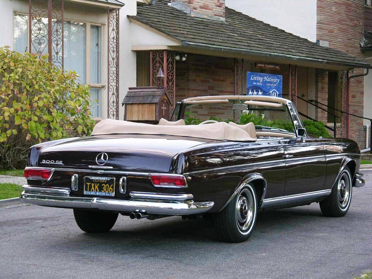 1967 mercedes benz 300se cabriolet 1960 to 1969 carz. Black Bedroom Furniture Sets. Home Design Ideas