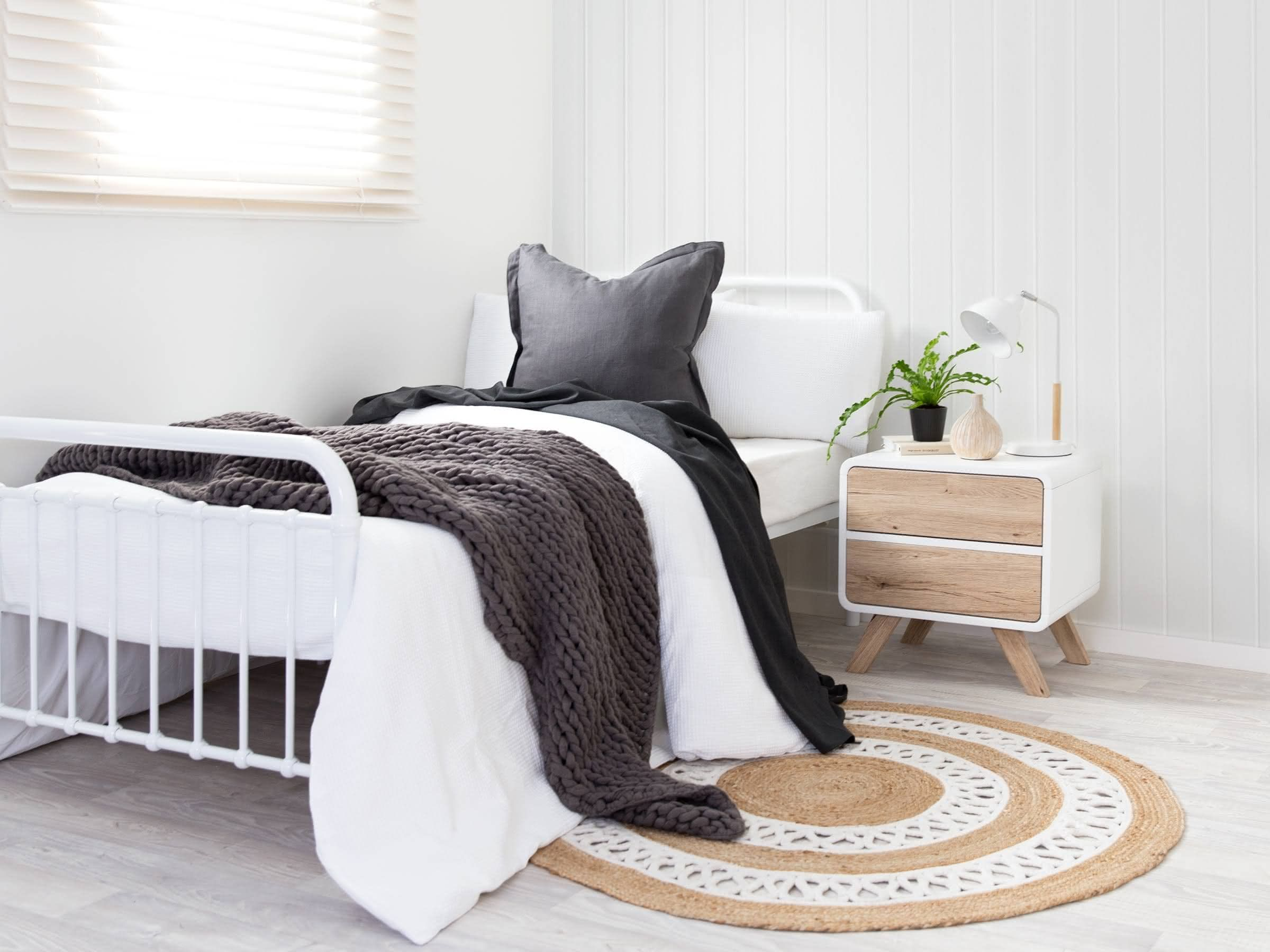 Mocka Sonata Bed Kids Bed Metal Bed Single Bed Classic Bed Vintage Bed Contemporary Bed Bedroom Furniture Bedroom Decor Ins Bedroom Design In 2019
