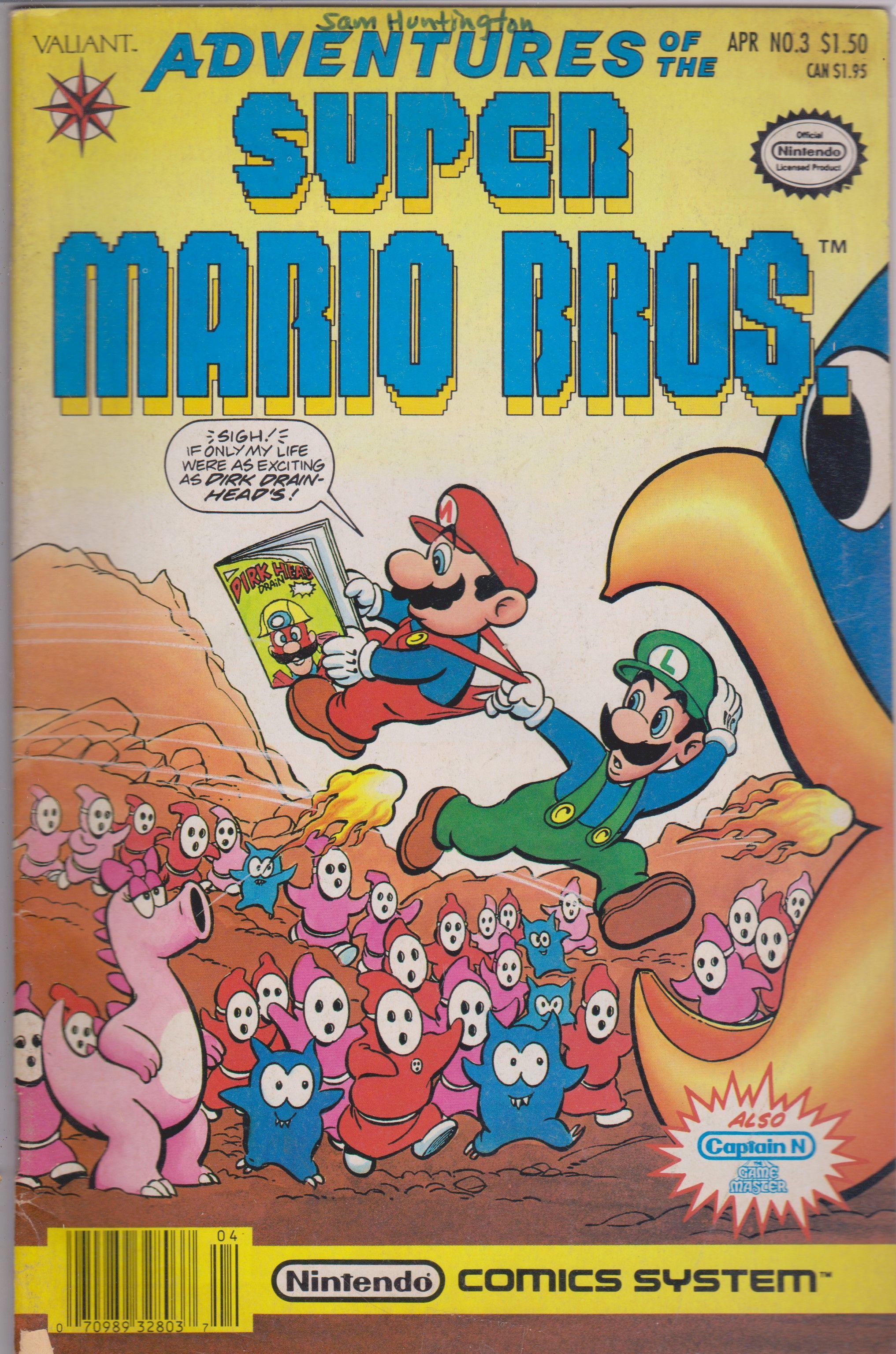 Adventures of the Super Mario Bros. 3 Super mario