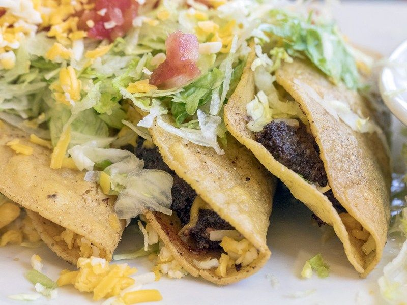 Beef Patty Tacos Recipe In 2020 Beef Patty Ground Beef Recipes Tacos