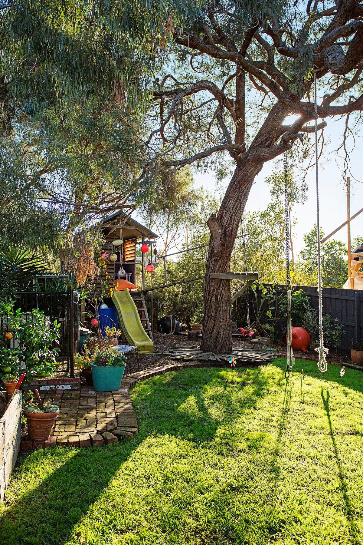 Take A Tour Of A Truly Fun Backyard At A
