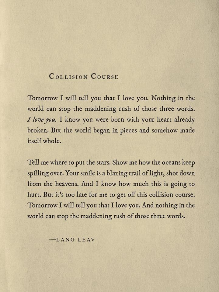 Pin By Odette C Cruz On Lang Leav Lang Leav Powerful Words