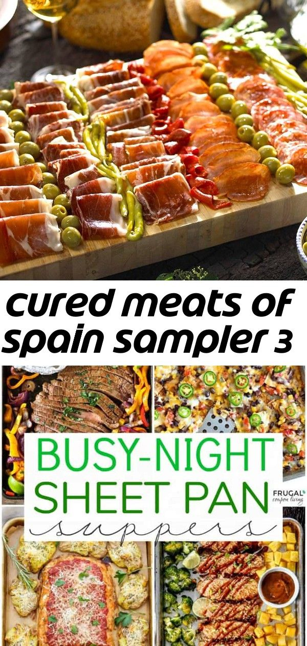 Cured meats of spain sampler 3 #sheetpansuppers