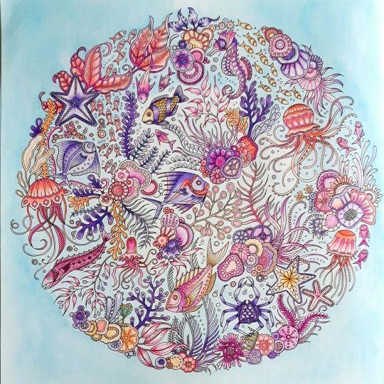 Johanna Basford | Colouring Gallery By Maxella