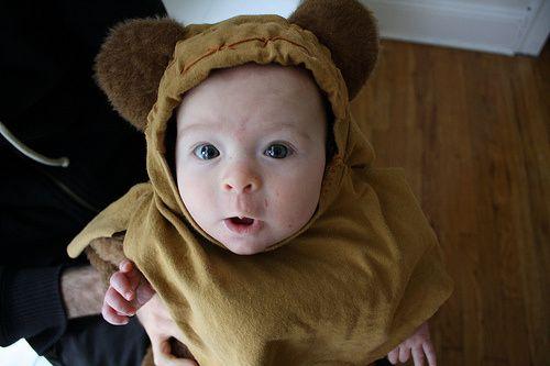 DIY Ewok Costume for Baby  sc 1 st  Pinterest & DIY Ewok Costume for Baby   Ewok costume Costumes and Toddler ...