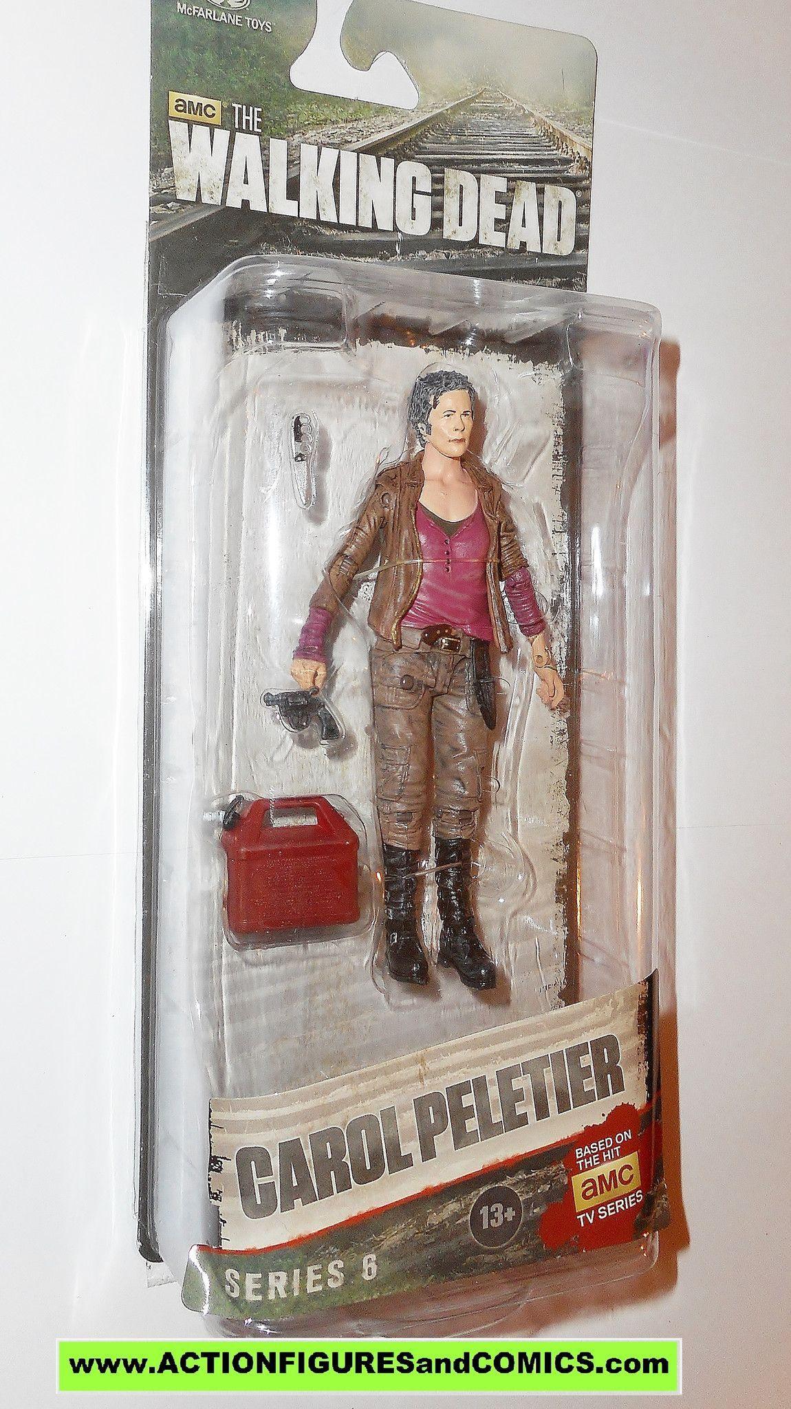 McFarlane The Walking Dead Series 6 Carol Peletier Action Figure New In Package