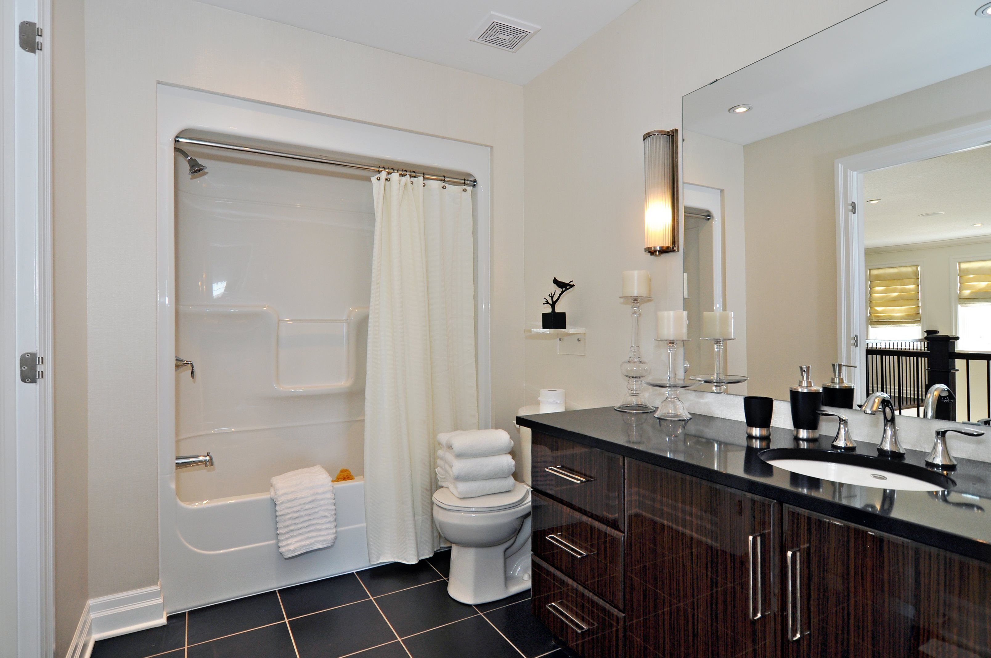 Blackstone homes model bathroom we are digging the for Bathroom design ottawa