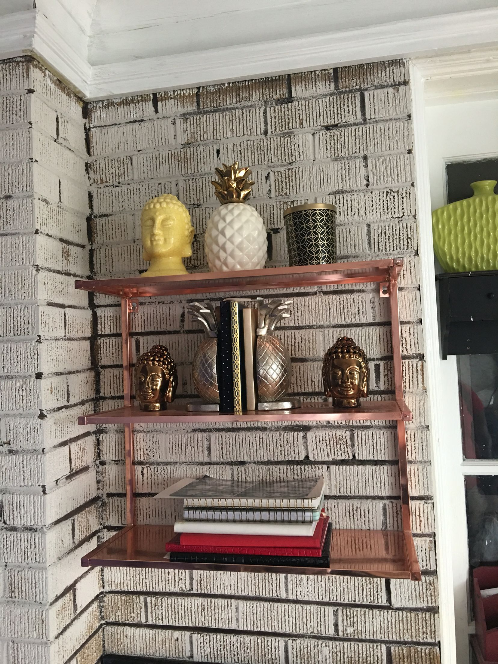 Lofty Wall Ideas , Shelf Idea ,pineapple Shrine