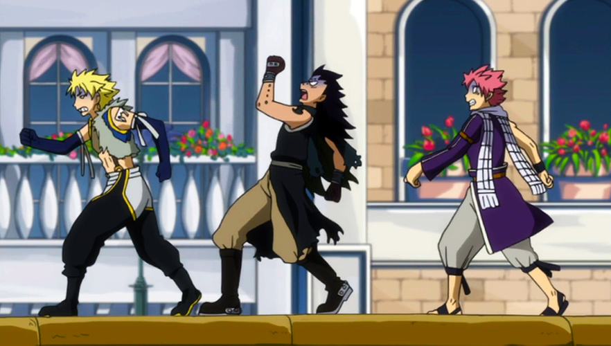 "I don't know how long I laughed when I found out all Dragon Slayers get motion sickness  The best was when Mirajane was like, ""I wonder if Laxus gets motion sick to?"" And he just quietly says, ""don't tell anyone""  I don't know why I found that extremely funny but whatever. And Gajeel. Oh Gajeel, just everything about that made me die"