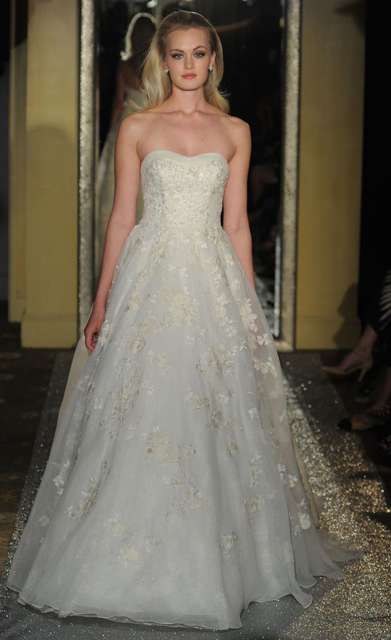 Lace and Crystal Perfection From Oleg Cassini at David\'s Bridal ...