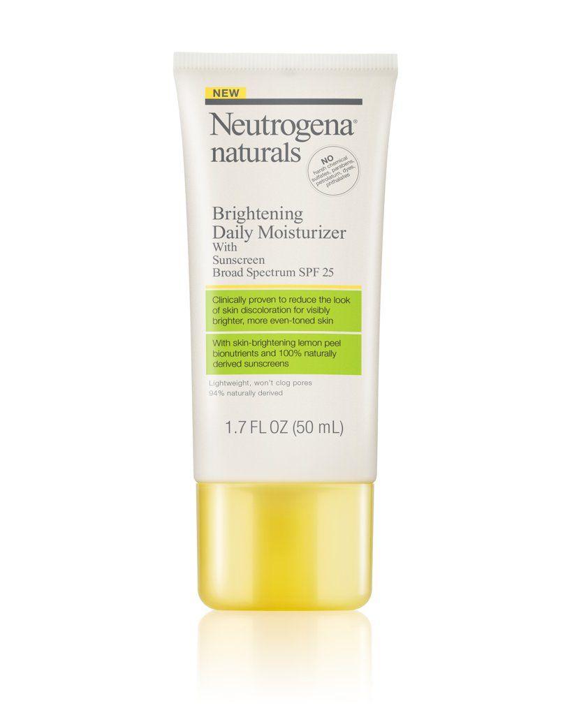 Neutrogena Naturals Brightening Daily Moisturizer SPF 25 ($14)  2016 New Summer Drugstore Beauty Products | POPSUGAR Beauty