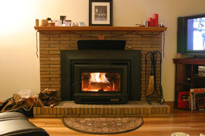 i either need to move my mantle or install a heat shield. current chimney  is painted white. im wondering if anyone has pics of a mantle heat shield. - Any Pics Of Mantle Heat Shield???? Hearth.com Forums Home
