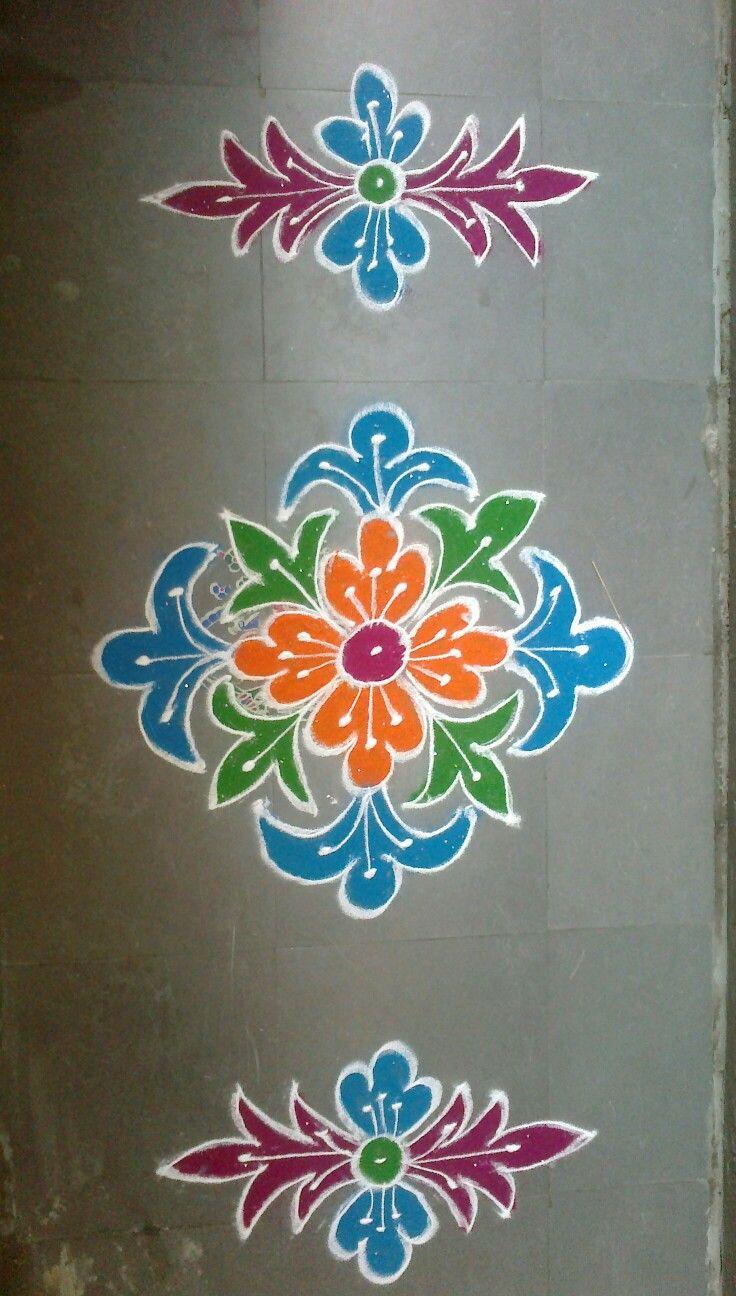 Rangoli ideas simple indian beautiful designs durga diwali also best images in kolam rh pinterest