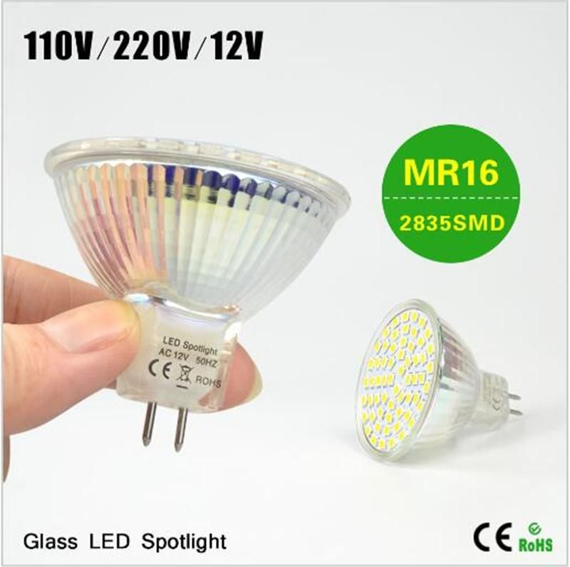Best Selling Class A 110v 220v 12v Mr16 7w Led Lamp High Quality Heat Resistant Body 2835smd Led Spotlight Spotlight Bulbs Heat Resistant Glass Led Spotlight