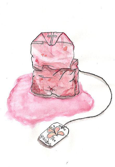 Tea Bag Png Tea Bag Art Tea Illustration Tea Art