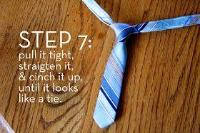 Baby tie